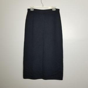 St. John classic knit midi skirt size 12